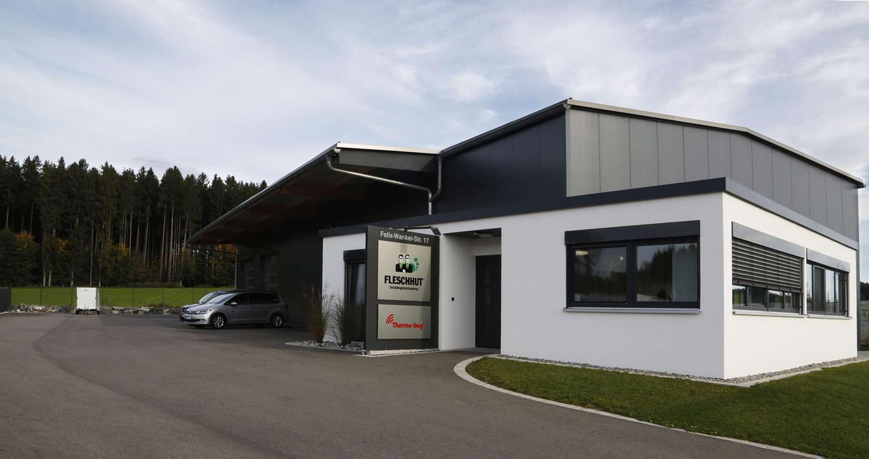 Das Stammhaus von Fleschhut Schädlingsbekämpfung in Bad Waldsee