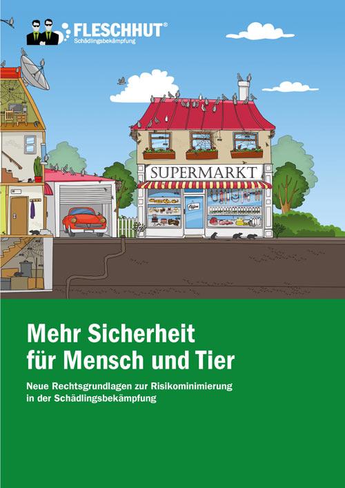 """Broschüre """"Mehr Sicherheit für Mensch und Tier"""""""