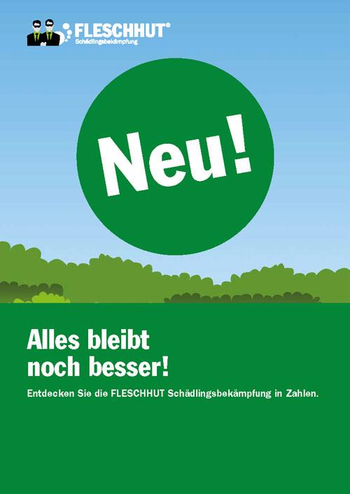 """Die Infografikbroschüre """"Alles bleibt noch besser"""" von Fleschhut"""